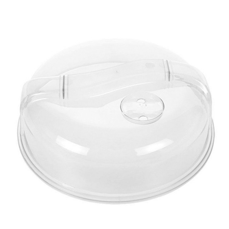 Microwave-Food-Cover-Plate-Vented-Splatter-Protector-Clear-Kitchen-Lid-Safe-Vent thumbnail 14